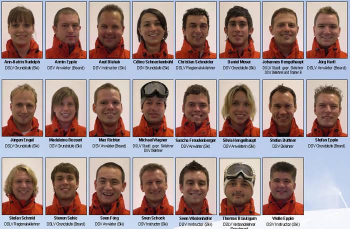 Skischule Honau Team
